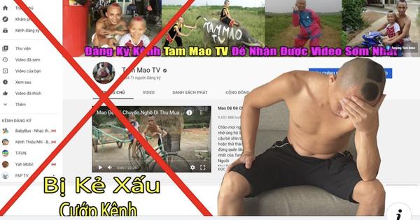 SỐC: 'ANH EM TAM MAO' bị bên khác đăng ký bản quyền, kênh YouTube 'triệu' lượt đăng ký sẽ bị đánh sập trong 1 nốt nhạc?