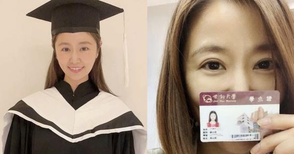 Lâm Tâm Như chính thức lấy bằng Thạc sĩ, hình ảnh mặc lễ phục tốt nghiệp gây bão vì visual 'hack tuổi' thần sầu