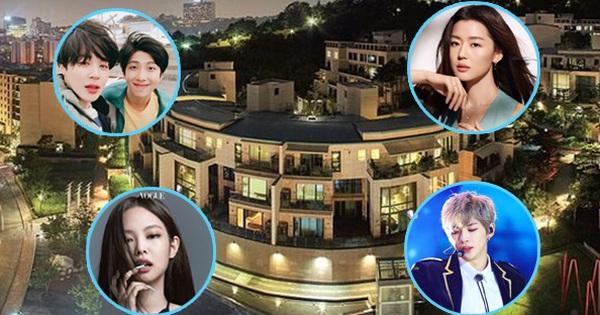 BTS, Jennie - GD và 'mợ chảnh' cùng nhiều siêu sao đều sống ở cùng 1 khu Hannam, có gì 'hot hòn họt' đến vậy?