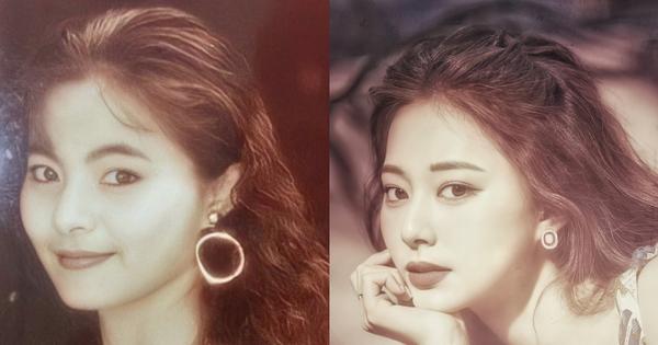 Netizen 'sốc visual' trước ảnh thời trẻ của mẹ Tzuyu (TWICE): Mẹ thế này bảo sao nữ idol thành gương mặt đẹp nhất thế giới!