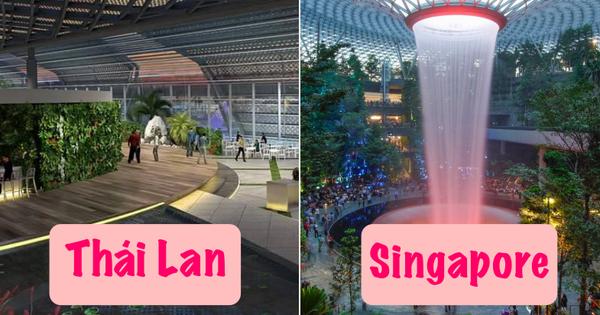 Tranh thủ 'vắng khách' du lịch - Thái Lan âm thầm cải tạo sân bay Bangkok đẹp đến choáng ngợp, tuyên bố sánh ngang với Singapore!
