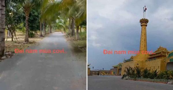 Khu Đại Nam của bà Phương Hằng gây tranh cãi dữ dội sau đoạn clip vắng tanh, nhìn như vườn dừa ở miền Tây?