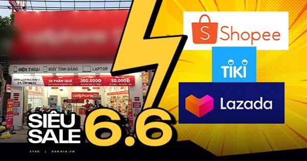 So sánh nhanh giá iPhone, Macbook, AirPods trên các sàn TMĐT và cửa hàng bán lẻ ngày siêu sale, kết quả sẽ khiến bạn bất ngờ!