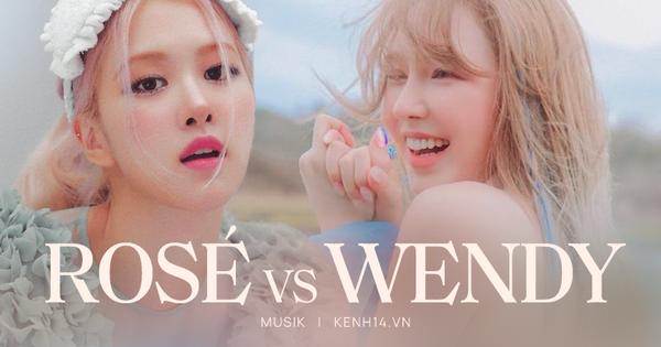 Khi main vocal của BLACKPINK và Red Velvet debut solo: Wendy được SM đầu tư nhưng chịu thua toàn tập trước Rosé?