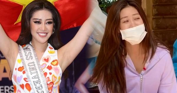 Clip Khánh Vân ngày đầu cách ly ở Việt Nam: Diện đồ bộ tung tăng, rớt nước mắt khi lấy mẫu xét nghiệm