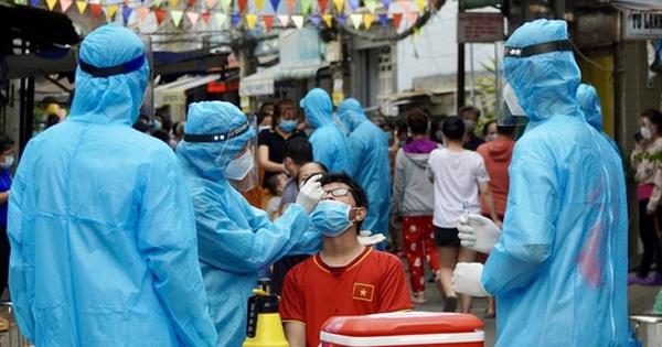 Hà Nội: Nam nhân viên quảng cáo ở phố Trần Cung dương tính SARS-CoV-2