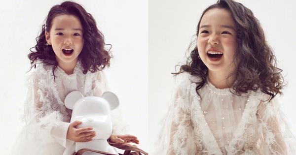 Tiểu công chúa 5 tuổi với visual xinh như thiên thần nhà 'Điêu Thuyền' Đổng Tuyền khiến cả Weibo 'lịm tim' với bộ ảnh mới