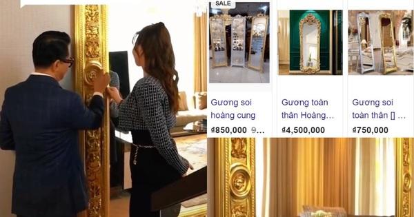 Thái Công bán gương 2 tỷ, dân tình hò nhau lên mạng kiếm đủ loại gần giống mà giá chỉ từ vài trăm