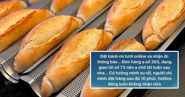 Đặt mua bánh mì ở Sài Gòn lúc này: Ai may mắn thì đợi 1 tuần, ai đặt muộn thì... chịu!