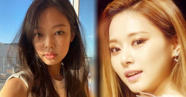 Cùng trang điểm kiểu 'mới ốm dậy', Jennie trông vẫn chanh sả nhưng sao Tzuyu nhìn lại 'ối giời ơi' thế này