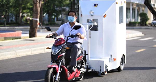 Giảng viên ĐH Bách Khoa sáng chế cabin chở bệnh nhân COVID-19 trong khu cách ly