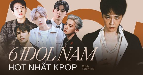 Top nam idol Kpop có lượng follow siêu khủng trên Instagram, bất ngờ nhất lại là vị trí của G-Dragon