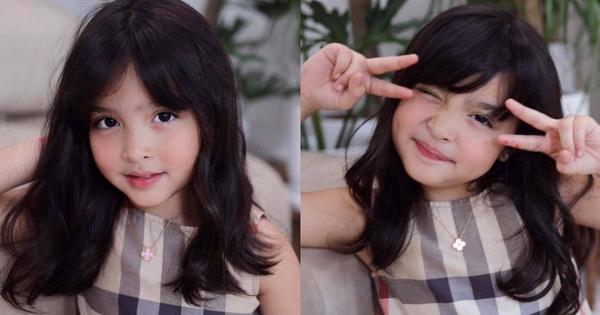 Con gái mỹ nhân đẹp nhất Philippines chụp bừa ở phòng khách thôi mà gây sốt: Gương mặt trời cho, làm mặt xấu mà xấu không nổi