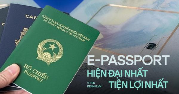 Hộ chiếu điện tử sắp được sử dụng tại Việt Nam có công nghệ rất 'xịn xò'