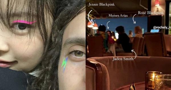 Hot rần rần ảnh Rosé - Jennie (BLACKPINK) hẹn hò cùng Jaden Smith và tài tử Hannah Montana, còn có màn make up cả nhóm cực lầy