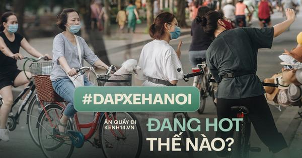 Các 'trường đua' xe đạp ở Hà Nội bỗng HOT hơn bao giờ hết, những nơi bán xe cũng cháy hàng trước trào lưu này