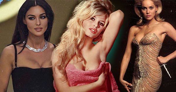 3 cô đào nóng bỏng nhất nhì Pháp, Ý và Mỹ: Brigitte Bardot như búp bê sống, Monica Bellucci khoe vòng 1 'bức thở', Sharon Stone kín đáo bất ngờ