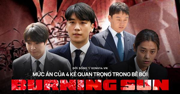 Mức án cuối cho 4 kẻ cộm cán nhất bê bối Burning Sun: Seungri và 2 ca sĩ cầm đầu chatroom hiếp dâm đi tù bao lâu mà gây phẫn nộ?