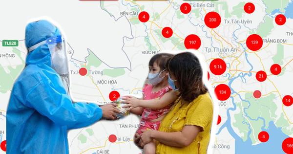 Muôn lời kêu cứu giữa đại dịch trên SOSmap và câu chuyện phía sau những 'chấm đỏ' đã hóa xanh: 'Không giúp họ, lòng mình không yên...'