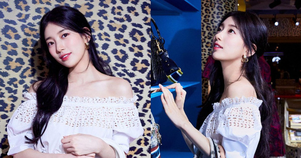 Suzy biến sự kiện cao cấp thành màn phô diễn visual đỉnh cao: Góc nghiêng hút hồn, bờ vai ngọc ngà khiến chị em khao khát