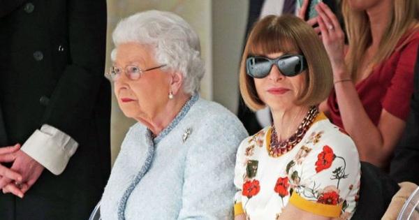 Vì sao 'bà đầm thép' Anna Wintour luôn đeo kính râm mọi lúc, kể cả khi gặp Nữ hoàng Anh để rồi bị chỉ trích?