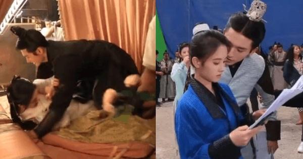 Bức xúc khoảnh khắc Trương Triết Hạn 'khoá chặt' Cúc Tịnh Y trên giường, cố tình hôn má khiến nhân viên tỏ thái độ ra mặt