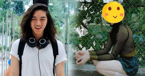 Khó nhận ra hot boy Vietnam's Next Top Model khi diện trang phục cực nữ tính!