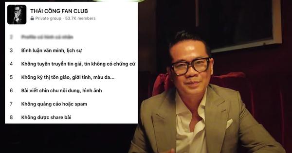 Thái Công giới thiệu hội fan kín, ai muốn tham gia phải nằm lòng 10 điều luật gắt gao: Ngay từ số 1 đã khiến netizen chột dạ