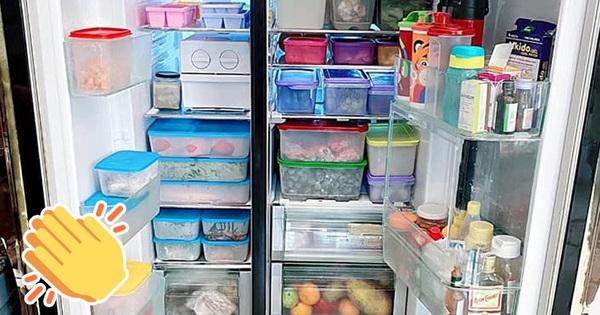 Hội chị em 'mê bếp' nô nức khoe tủ lạnh mùa dịch: Nhiều người sở hữu BST hộp đựng 'khủng', có chiếc tủ bé xinh nhưng cực sáng tạo