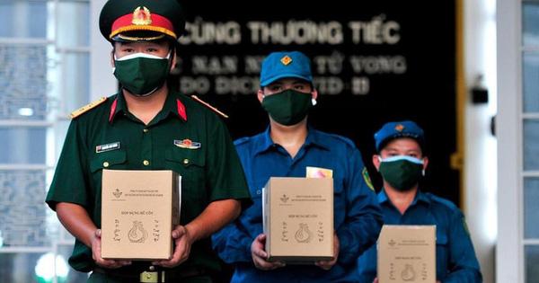 Bộ Tư lệnh TP.HCM nói về thông tin 'Xe tải chở 46 thi hài từ TP về Bến Tre hỏa táng'