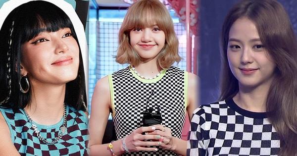 Hết Jisoo, Lisa lại đến Châu Bùi lăng xê áo họa tiết bàn cờ, các nàng tiếc gì 100k để 'đu' theo?