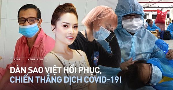 7 gia đình sao Việt chiến thắng Covid-19 ngoạn mục: Lữ Đắc Long - Xuân Nghi kiên cường, quá khâm phục nhà Á hậu 7 người nhiễm