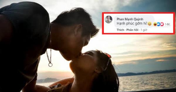 Phan Mạnh Quỳnh 'cà khịa' ảnh tình tứ của Độ Mixi, ngay lập tức nhận 'bão haha' từ cư dân mạng