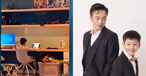 Cường Đô La khoe Subeo lên lớp 7 dù mới 11 tuổi,  tưởng vô lý nhưng nghe giải thích mới tấm tắc: Đã giàu lại còn giỏi