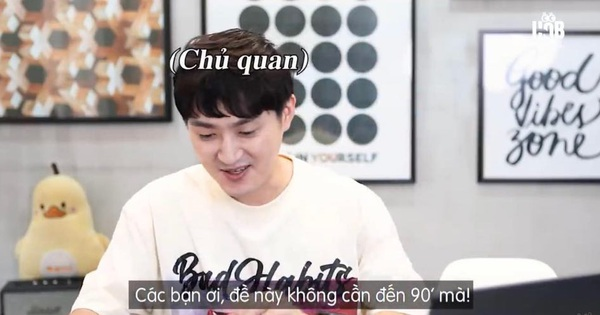 2 thanh niên Hàn Quốc thử làm đề thi Toán vào lớp 10 của Hà Nội, đắc chí nói không cần đến 90 phút nhưng cái kết lại tẽn tò