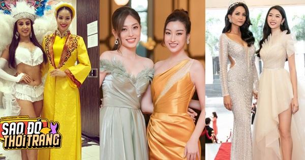 Bóc chiêu hack dáng của Hoa hậu: Phạm Hương - H'Hen Niê gây lú nặng, nhìn Đỗ Mỹ Linh không biết khóc hay cười