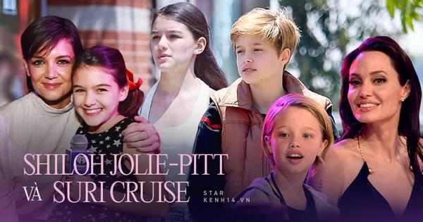 2 ái nữ 15 tuổi nhà Tom Cruise – Brad Pitt cùng có gia thế khủng, thiếu tình thương của cha và 1001 điểm chung nhưng ngoại hình quá trái ngược