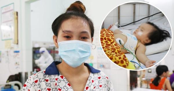 Bố mẹ chấp nhận nhiễm Covid-19 để theo con vào bệnh viện giành sự sống: 'Em không sợ gì cả, chỉ mong bé bình an thôi'