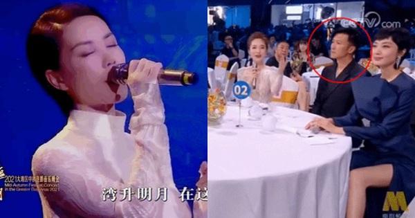 Phản ứng của Tạ Đình Phong khi Vương Phi biểu diễn Trung thu gây bão MXH: Cách thể hiện tình cảm 'so deep' là đây?