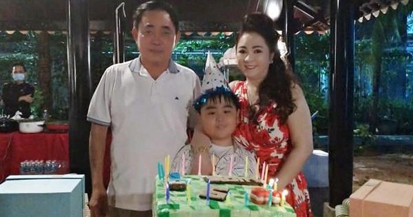 Chiếc bánh sinh nhật 'siêu to khổng lồ' của thiếu gia Đại Nam gây tò mò vì có hình dáng cực khó hiểu, hóa ra lý do là đây?