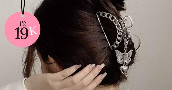 Nhiều phụ kiện xinh đang sale rẻ quá chị em ơi: Kẹp tóc style Hàn chỉ từ 19k, hot nhất là giày cao gót sale tới 80%