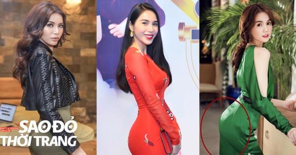 Người đẹp Việt nên học cách mặc quần độn mông để vòng 3 không... uốn lượn cung mây thế này