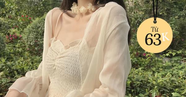 Nhiều đồ thu đẹp rẻ quá chị em sắm dần đi là vừa, áo len mỏng ôm sát style 'Hàn xẻng' chưa đến 70k