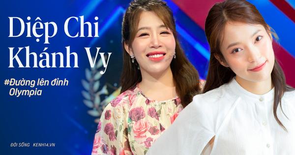 Diệp Chi - Khánh Vy: Đồng hương Nghệ An lệch nhau 13 tuổi, giỏi giang nức tiếng và cùng là MC Đường Lên Đỉnh Olympia