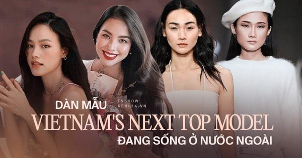 Dàn mỹ nhân Vietnam's Next Top Model tại nước ngoài: Người thành mẫu quốc tế, người sung sướng như bà hoàng bên chồng con