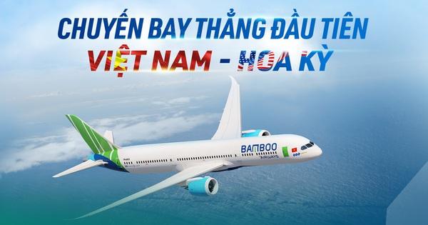 HOT: Cuối cùng Việt Nam cũng thực hiện được chuyến bay thẳng đầu tiên sang Mỹ, dân mạng hay tin ai cũng hỏi ngay điều này