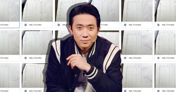 Bị hoài nghi độ uy tín, Trấn Thành tung hẳn đường link 'full không che' 1.000 trang sao kê