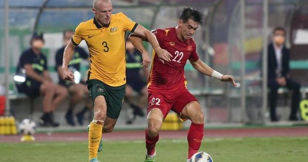 Đội tuyển Việt Nam để thua tối thiểu trước Australia trong một ngày thi đấu vô cùng quả cảm