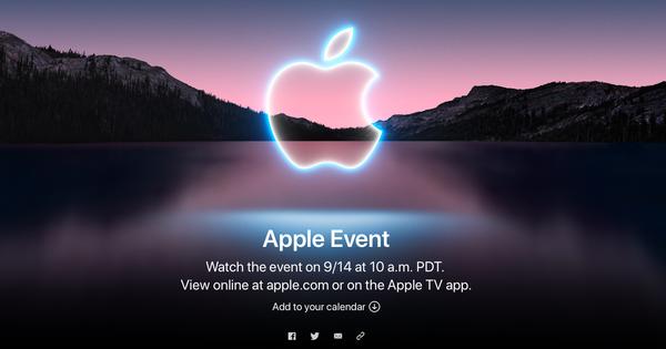 Nóng: Apple chính thức công bố ngày ra mắt iPhone 13