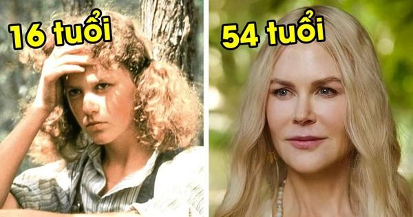 Ngỡ ngàng nhan sắc dàn sao Hollywood trong phim xưa - nay: Nicole Kidman như 'ăn thịt Đường Tăng', lạ nhất là Johnny Depp!